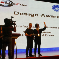 Robocup 2015 design award